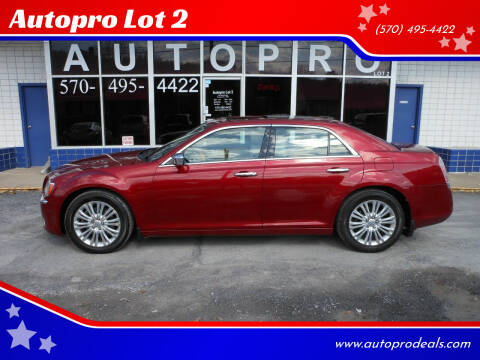 2012 Chrysler 300 for sale at Autopro Lot 2 in Sunbury PA