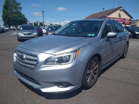 2015 Subaru Legacy for sale at P J McCafferty Inc in Langhorne PA