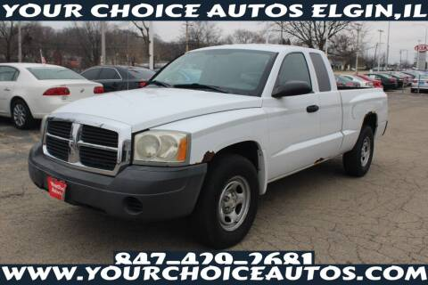 2007 Dodge Dakota for sale at Your Choice Autos - Elgin in Elgin IL