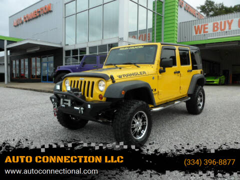 2008 Jeep Wrangler Unlimited for sale at AUTO CONNECTION LLC in Montgomery AL