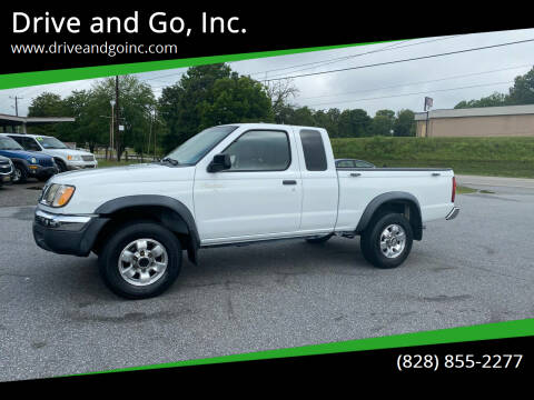 1998 Nissan Frontier for sale at Drive and Go, Inc. in Hickory NC