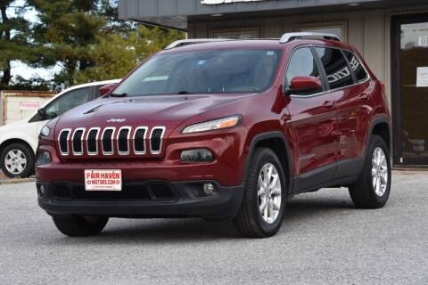 2015 Jeep Cherokee for sale at Will's Fair Haven Motors in Fair Haven VT