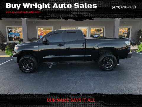 2012 Toyota Tundra for sale at Buy Wright Auto Sales in Rogers AR