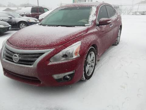 2015 Nissan Altima for sale at Affordable 4 All Auto Sales in Elk River MN