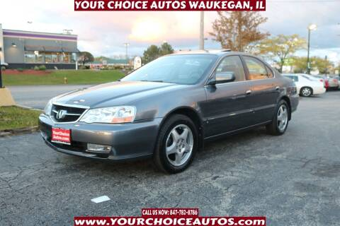 2003 Acura TL for sale at Your Choice Autos - Waukegan in Waukegan IL