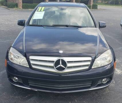 2011 Mercedes-Benz C-Class for sale at Greenville Motor Company in Greenville NC