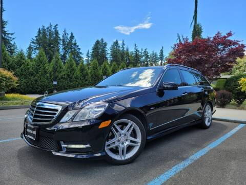 2012 Mercedes-Benz E-Class for sale at Silver Star Auto in Lynnwood WA