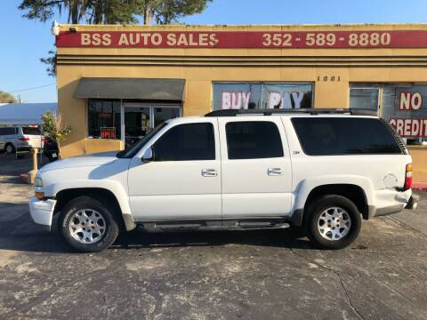 2004 Chevrolet Suburban for sale at BSS AUTO SALES INC in Eustis FL