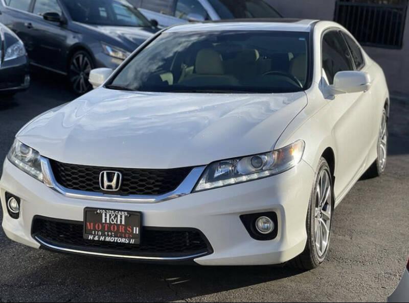 2014 Honda Accord for sale at H & H Motors 2 LLC in Baltimore MD