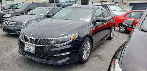 2017 Kia Optima for sale at International Motors in San Pedro CA