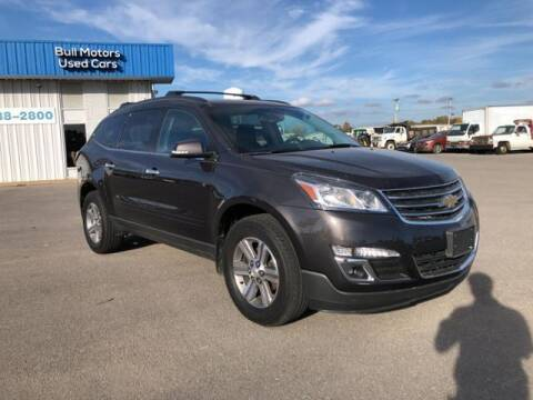 2017 Chevrolet Traverse for sale at BULL MOTOR COMPANY in Wynne AR