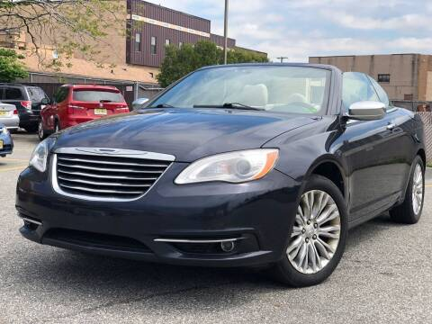 2012 Chrysler 200 Convertible for sale at MAGIC AUTO SALES - Magic Auto Prestige in South Hackensack NJ