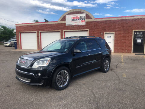 2011 GMC Acadia for sale at Family Auto Finance OKC LLC in Oklahoma City OK