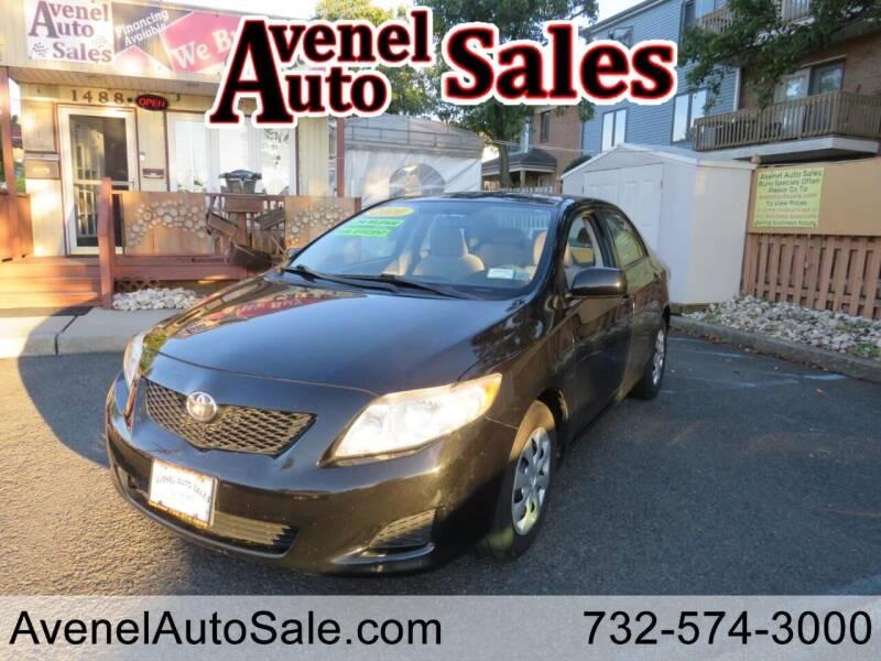2010 Toyota Corolla for sale at Avenel Auto Sales in Avenel NJ