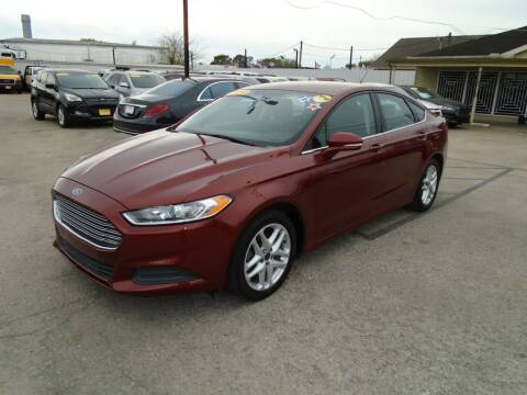 2014 Ford Fusion for sale at BAS MOTORS in Houston TX