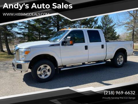 2015 Ford F-250 Super Duty for sale at Andy's Auto Sales in Hibbing MN