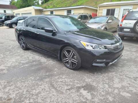 2016 Honda Accord for sale at North Knox Auto LLC in Knoxville TN
