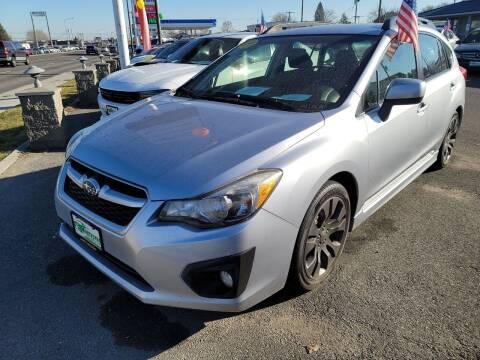2012 Subaru Impreza for sale at Artistic Auto Group, LLC in Kennewick WA