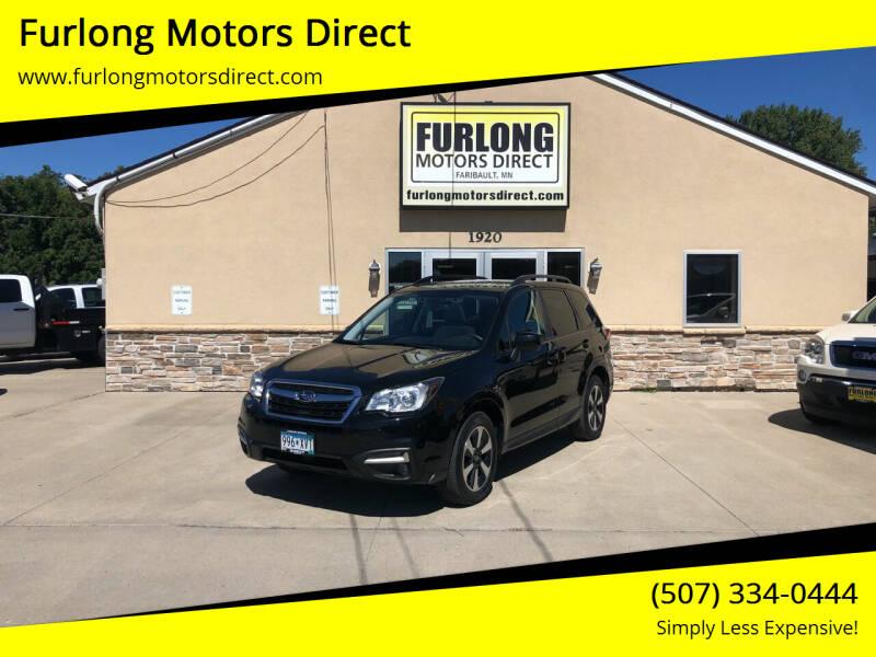 2018 Subaru Forester for sale at Furlong Motors Direct in Faribault MN