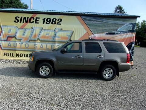 2011 Chevrolet Tahoe for sale at Pyles Auto Sales in Kittanning PA