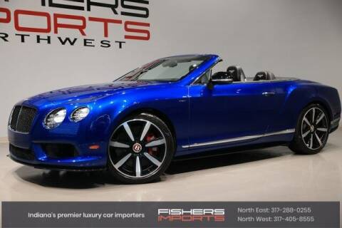 2014 Bentley Continental for sale at Fishers Imports in Fishers IN
