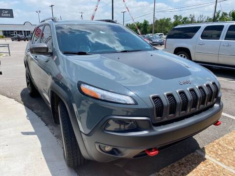 2014 Jeep Cherokee for sale at Auto Solutions in Warr Acres OK