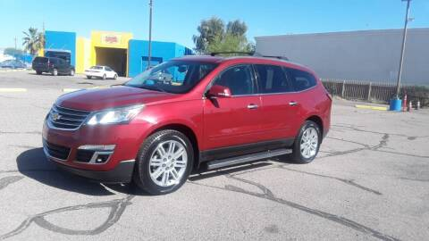 2013 Chevrolet Traverse for sale at CAMEL MOTORS in Tucson AZ