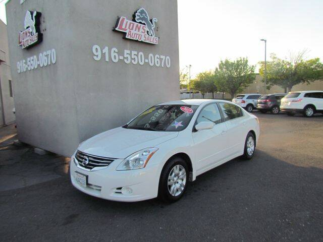 2012 Nissan Altima for sale at LIONS AUTO SALES in Sacramento CA