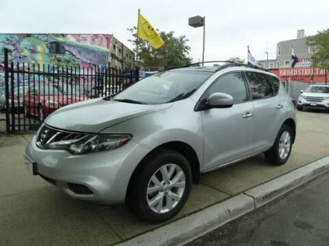 2011 Nissan Murano for sale at JOANKA AUTO SALES in Newark NJ