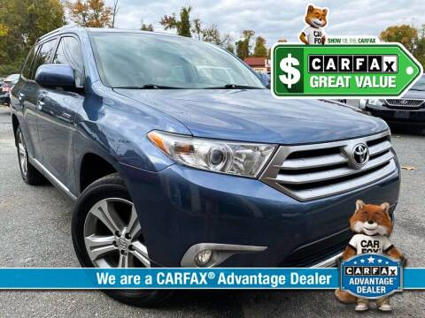 2011 Toyota Highlander for sale at High Rated Auto Company in Abingdon MD