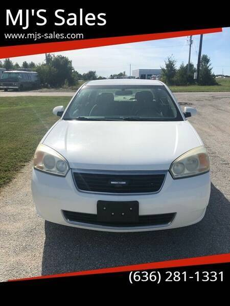 2007 Chevrolet Malibu for sale at MJ'S Sales in Foristell MO