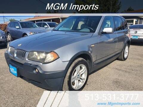 2004 BMW X3 for sale at MGM Imports in Cincannati OH