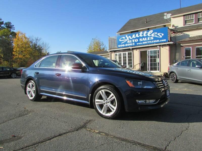 2013 Volkswagen Passat for sale at Shuttles Auto Sales LLC in Hooksett NH