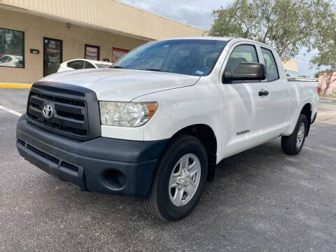 2012 Toyota Tundra for sale at Top Garage Commercial LLC in Ocoee FL