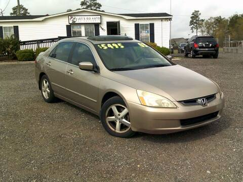 2003 Honda Accord for sale at Let's Go Auto Of Columbia in West Columbia SC