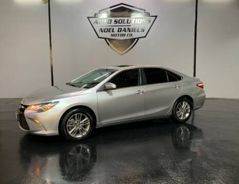 2016 Toyota Camry for sale at Noel Daniels Motor Company in Ridgeland MS