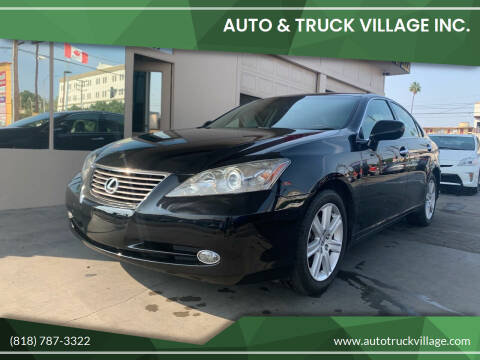 2007 Lexus ES 350 for sale at Auto & Truck Village Inc. in Van Nuys CA