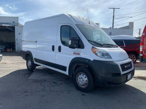 2020 RAM ProMaster Cargo for sale at Best Buy Quality Cars in Bellflower CA