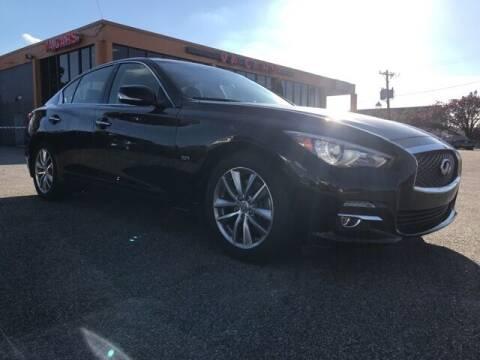 2017 Infiniti Q50 for sale at VA Cars Inc in Richmond VA