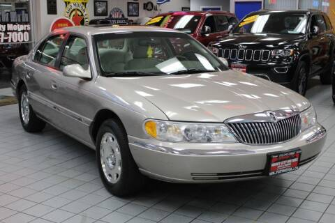1999 Lincoln Continental for sale at Windy City Motors in Chicago IL