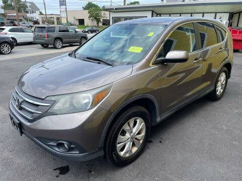 2013 Honda CR-V for sale at MIRACLE AUTO SALES in Cranston RI