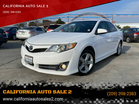 2012 Toyota Camry for sale at CALIFORNIA AUTO SALE 2 in Livingston CA