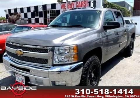2012 Chevrolet Silverado 1500 for sale at BaySide Auto in Wilmington CA