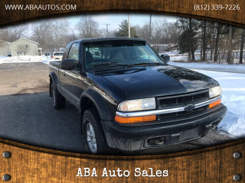 2000 Chevrolet S-10 for sale at ABA Auto Sales in Bloomington IN