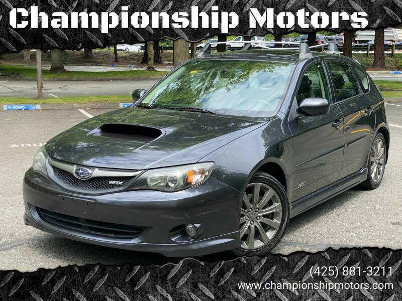 2010 Subaru Impreza for sale at Championship Motors in Redmond WA