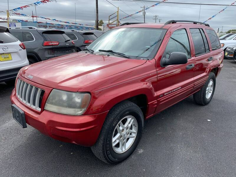 2004 Jeep Grand Cherokee for sale at Rock Motors LLC in Victoria TX