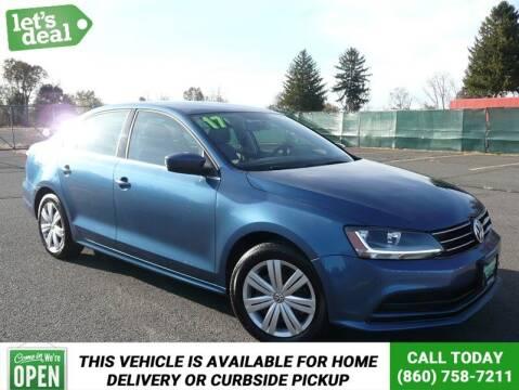 2017 Volkswagen Jetta for sale at Shamrock Motors in East Windsor CT