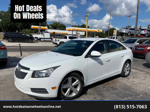 2014 Chevrolet Cruze for sale at Hot Deals On Wheels in Tampa FL