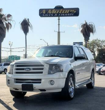 2008 Ford Expedition EL for sale at A MOTORS SALES AND FINANCE - 5630 San Pedro Ave in San Antonio TX