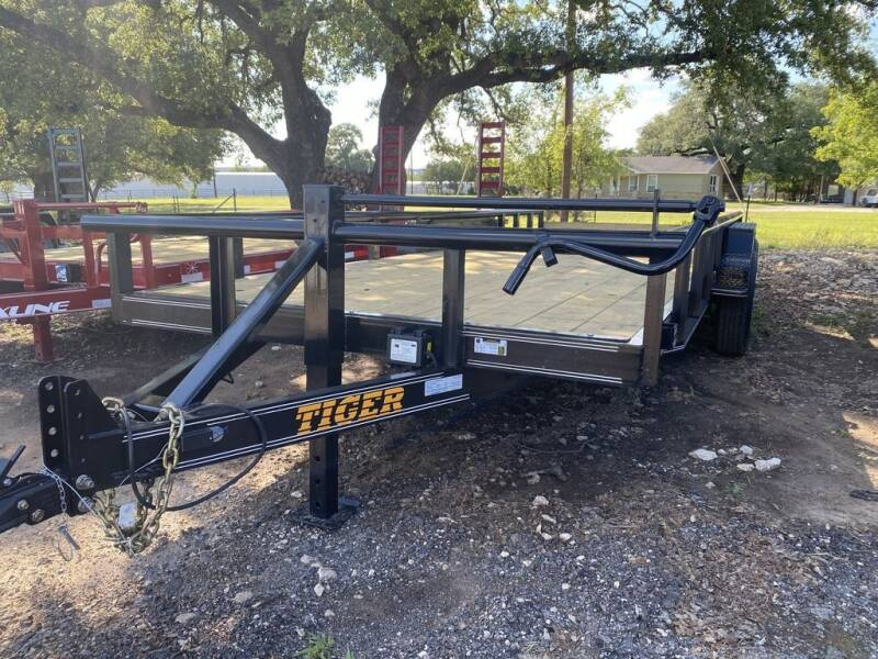 "2021 TIGER  - Equipment 83"" X 18 ' - for sale at LJD Sales in Lampasas TX"